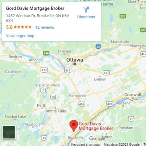 Gord Davis Mortgage Agent Stittsville Ontario